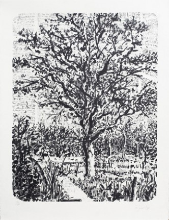 William Kentridge, Stone Tree I, 2013.