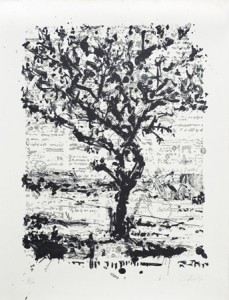 William Kentridge, Stone Tree II, 2013.
