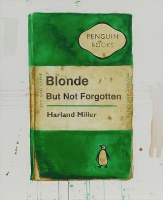 Harland Miller, Blonde But Not Forgotten, 2013.