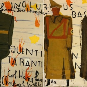Rose Wylie, Inglourious Basterds.
