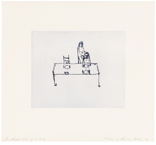 Tracey Emin, You Forgot Who You Are, 2013.