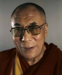 Chuck Close, Dalai Lama, 2005.