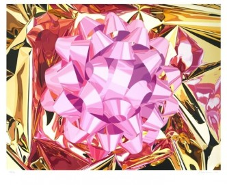 "Jeff Koons, Pink Bow"" (Celebration Series), 2013."