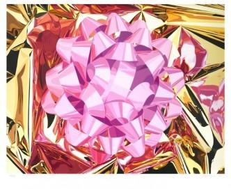 "Jeff Koons, Pink Bow"" (Celebration Series), 2013."
