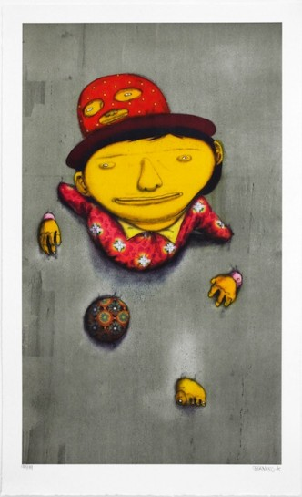 Os Gemeos, The Other Side, 2014