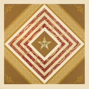 Shepard Fairey, Power and Glory II, 2014