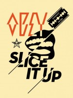 Shepard Fairey, Slice It Up, 2014.