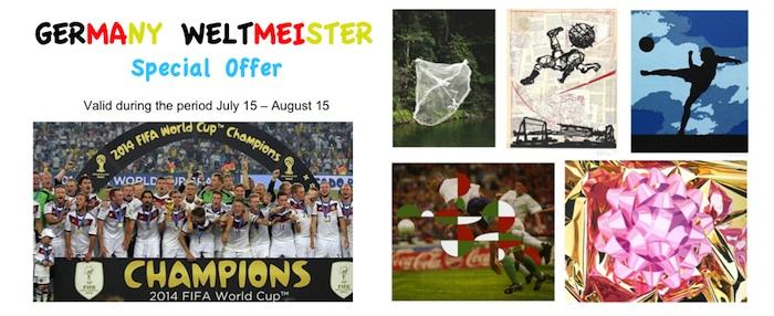Special Offer Brazil 2014 prints
