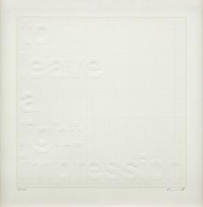 Darren Almond, A Light Impression, 2014.