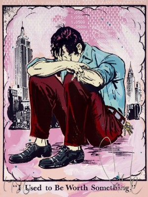 Faile, I Used To Be Worth Something, 2012. (Pink edition)