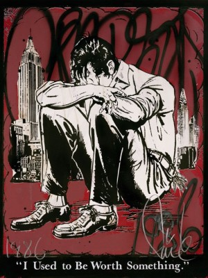 FAILE, I Used To Be Worth Something, 2012. (Red edition)