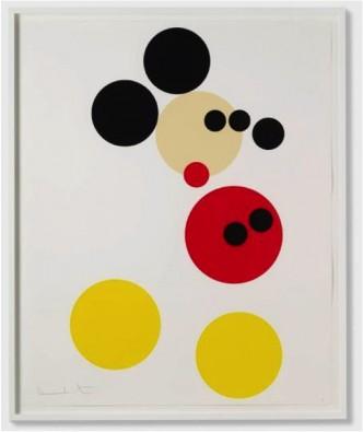 Damien Hirst, Mickey, 2014.