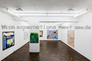 Jana Euler, When Expectations Meet Needs, 2014