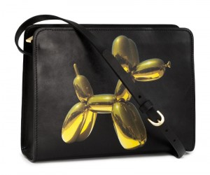 H&M Jeff Koons Balloon Dog Handbag