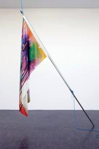 Katharina Grosse, Flag, 2013