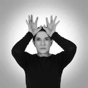 Marina Abramović, Hands as Energy Receivers, 2014.