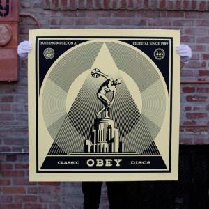 Shepard Fairey, 'Classic Disks', 2014.