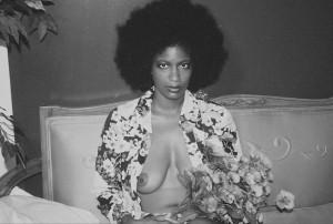 Mickalene Thomas, Afro Muse, 2014.