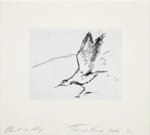 Tracey Emin, About to Fly, 2014.