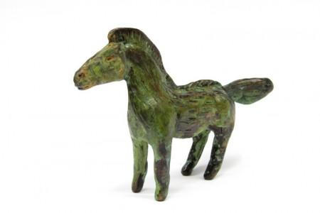 Billy Childish, Ice Age Horse, 2014