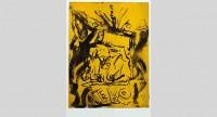 Georg Baselitz — Willem raucht nicht mehr [Farewell Bill], 2014