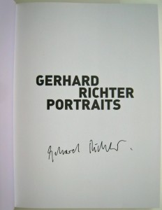 Gerhard Richter, Portraits -Painting Appearances, 2009