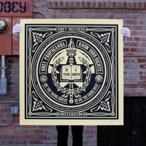 Shepard Fairey, Know your Rights, 2014.