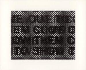Glenn Ligon, Detail, 2014.