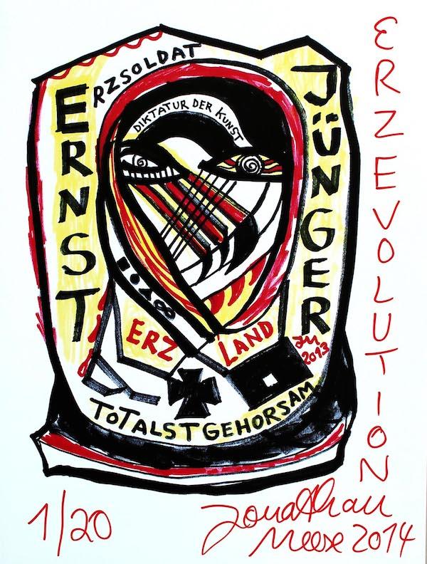Jonathan Meese, Erzrevolution, 2014.