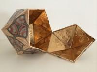 M.C. Escher, Isocaëder, 1963.