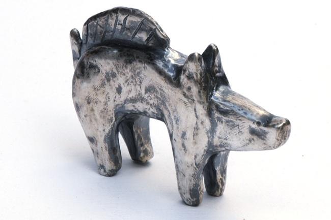 Billy Childish, pig silver 3