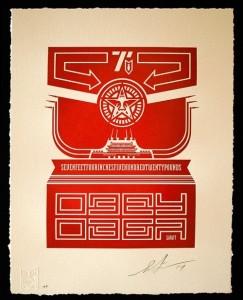 Shepard Fairey, Chinese Banner, 2014