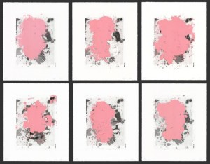 Christopher Wool, Portraits (red), 2014