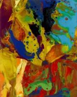Gerhard Richter - P9 (Bagdad I) - 2014