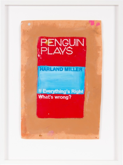 Harland Miller — If Everything's Right What's Wrong?, 2014