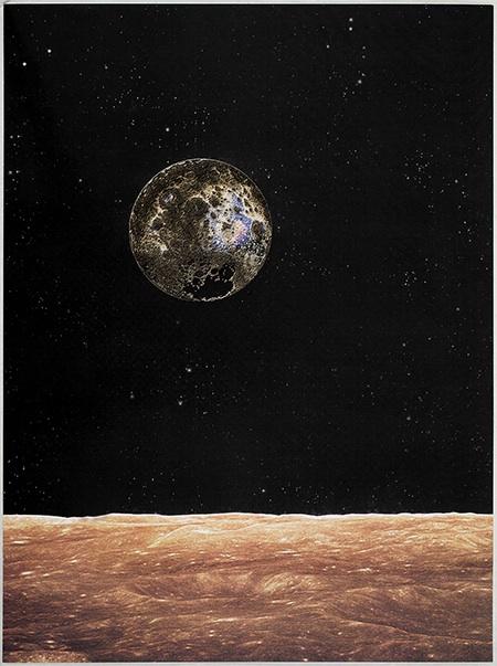 Matthew Day Jackson, Lunar Reflection, 2014
