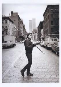 Gianfranco Gorgoni, Andre Cadere 11 December, 1976, David Ebony Gallery, New York, 13.00 to 17.30, 2014