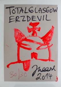 Jonathan Meese, Total Glasgow Erz Devil, 2014