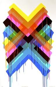 Maya Hayuk, Multiverses #2, 2014,