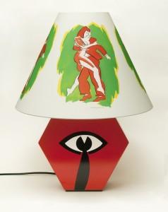 Allen Jones, Red Lamp, 2014