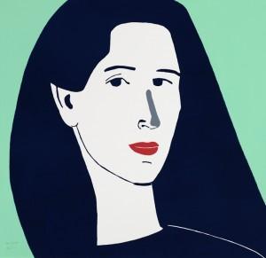 Alex Katz, Diana, 2014