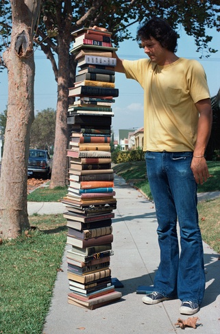 Allen Ruppersberg, Too Many Books, 2015