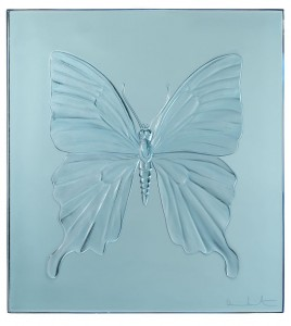 Damien Hirst, Eternal Beauty Light Blue, 2015