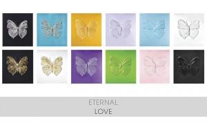 Damien Hirst, Eternal (Love), 2015