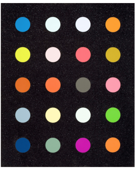 Damien Hirst, 3-Methylthymidine Black, 2014