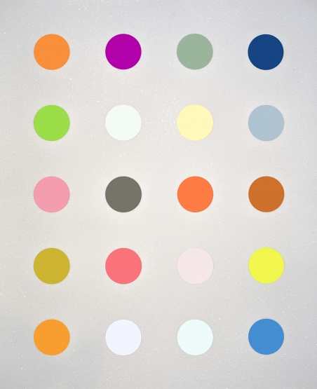 Damien Hirst, 3-Methylthymidine White, 2014