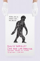 David Shrigley, Please Try To Forget That You Saw Me, 2014