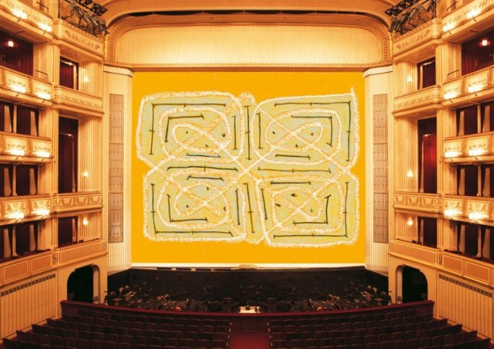 Joan Jonas, Safety Curtain, 2014