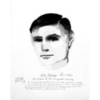 Marlene Dumas, Alan Turing, 2015