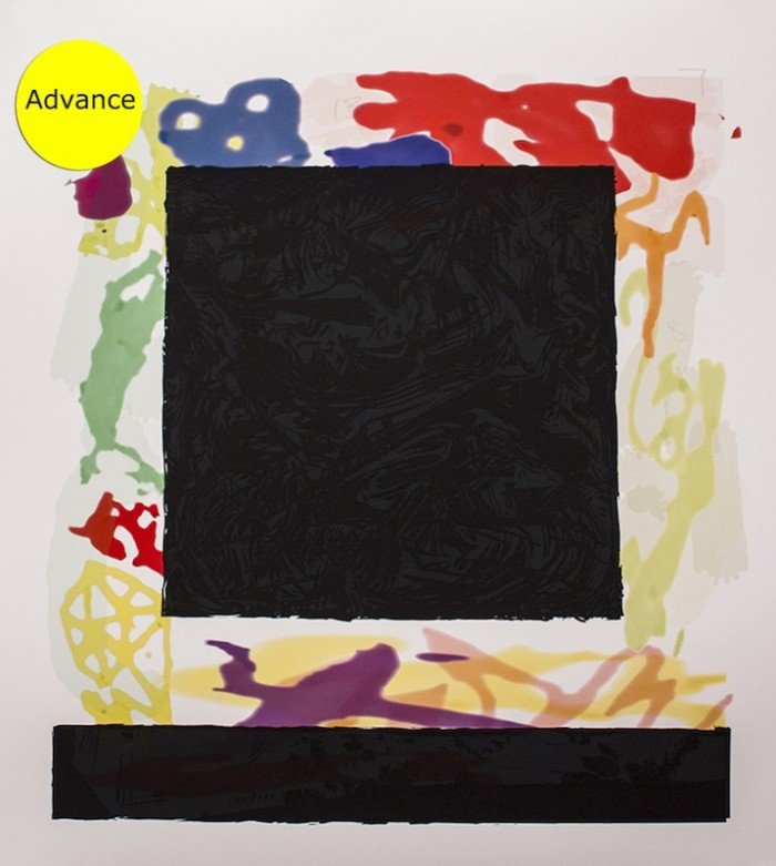 Peter Halley Black Cell, 2014